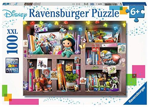 Ravensburger-10410 Ravensburger Disney Multipersonaje XXL 100 Piezas Rompecabezas, Multicolor (10410)