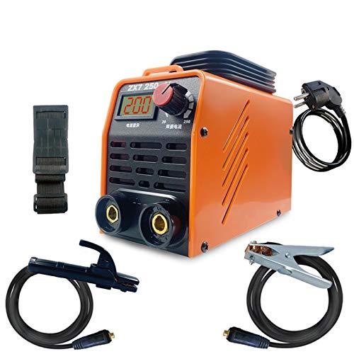 Maquina De Soldar,Soldador Inverter Profesional IGBT 250 Amperios,200 A Soldador De Arco Electrico,Para Soldar Trabajos Eléctricos
