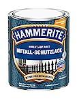 AKZO NOBEL (DIY HAMMERITE) 5087608 Metallschutzlack Metall-Schutz Rostschutz-Farbe 2in1 Hammerschlag, dunkelgrau, 250ml