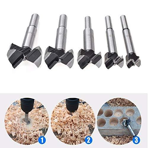 Boor Bit, 16-50mm Diameter Carbide Legering Boor Gatzaag Houtbewerking Metaal Snijgereedschap 40mm