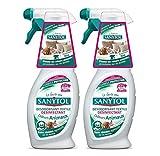 Sanytol Deodorante disinfettante per tessili odori di animali–set di 2
