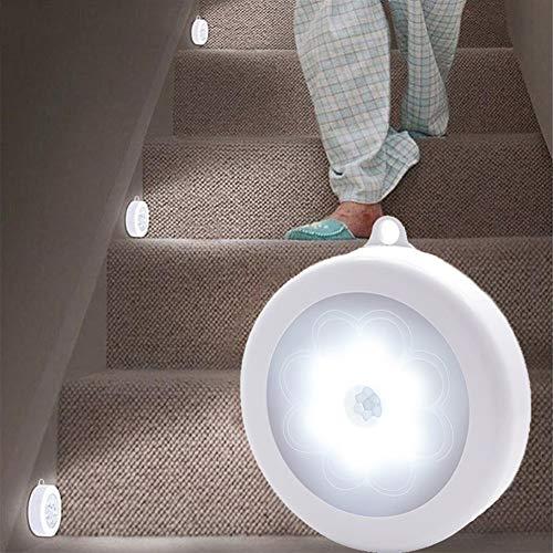Hmcozy 2020 Caliente Nueva Noche del Sensor de Movimiento de la lámpara con/Blanco de Las Luces de la Noche por la casa como niños luz de la Noche para la Cocina/Armario/Armario,White Light