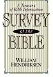 Survey of the Bible: A Treasury of Bible Information - William Hendriksen