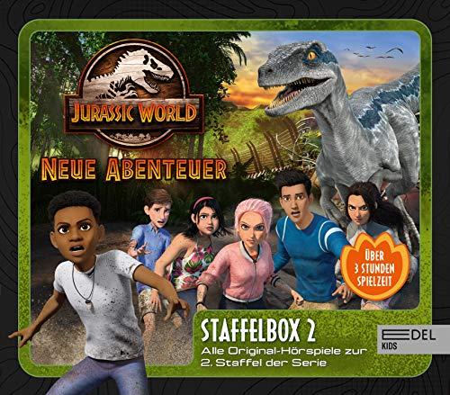 Jurassic World - Neue Abenteuer: Alle Original-Hörspiele zur 2. Staffel (Folge 9 - 16) - [Hörspiel-Staffelbox mit 3 CDs]