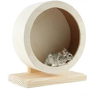 JEMPET Hamster Silent Running Exercise Wheels,Made of Wood