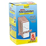 Tetra Whisper Small Aquarium Filter Cartridge 6 Pack 'S' Size Replacement Carbon Filter