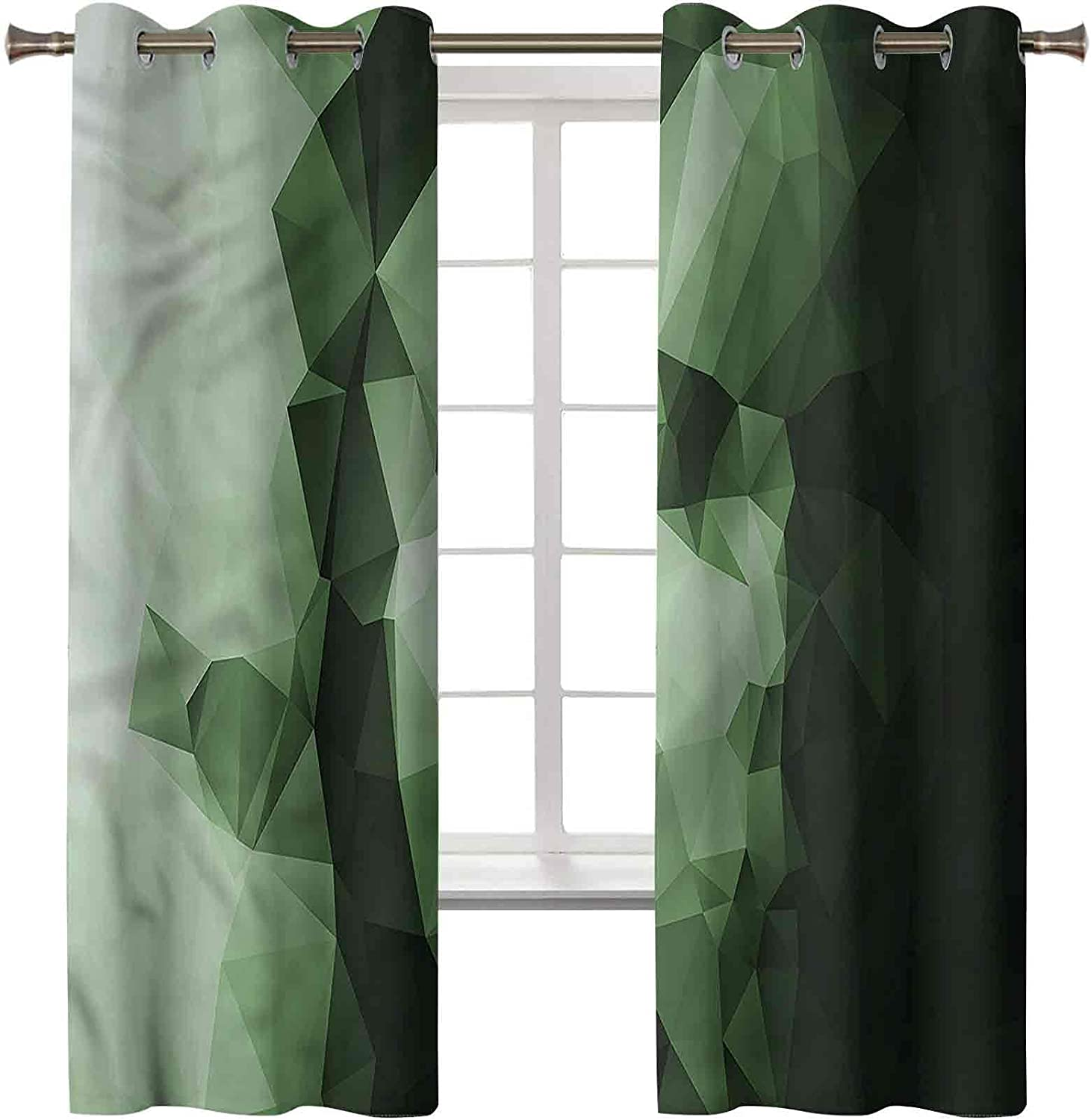 sold out Blackout Window Curtain Treatment Thermal In stock Geom Insulated