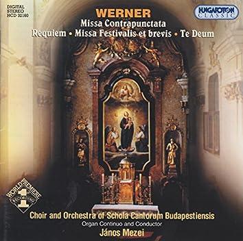 Werner: Masses / Te Deum Laudamus
