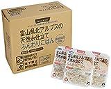 ふんわりごはん 富山県北アルプスの天然水仕立て 国内産100% 1セット24食
