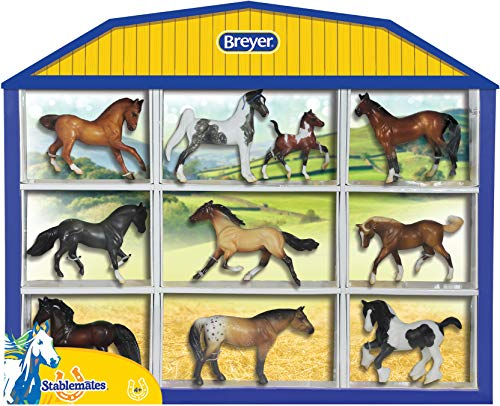Breyer Stablemates Wild at Heart Horse Toy Set