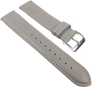 Graf Manufaktur GR-22586-17S - Correa para reloj, color gris
