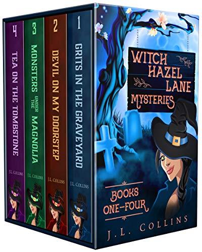 Witch Hazel Lane Mysteries: Paranormal Cozy Boxset Books 1-4 (Witch Hazel Lane Mysteries Boxsets Book 1)