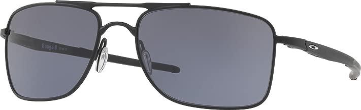 Oakley Men's OO4124 Gauge 8 Rectangular Metal Sunglasses