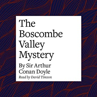 The Boscombe Valley Mystery audiobook cover art