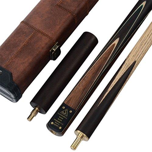 CUESOUL Klassische Handgemachte 57 Zoll Palisander 3/4 Stück Snooker Queue + Köcher und Extension (CSSC008)
