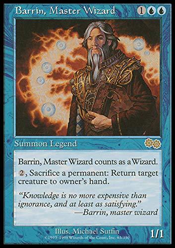 Magic The Gathering - Barrin, Master Wizard - Urza's Saga