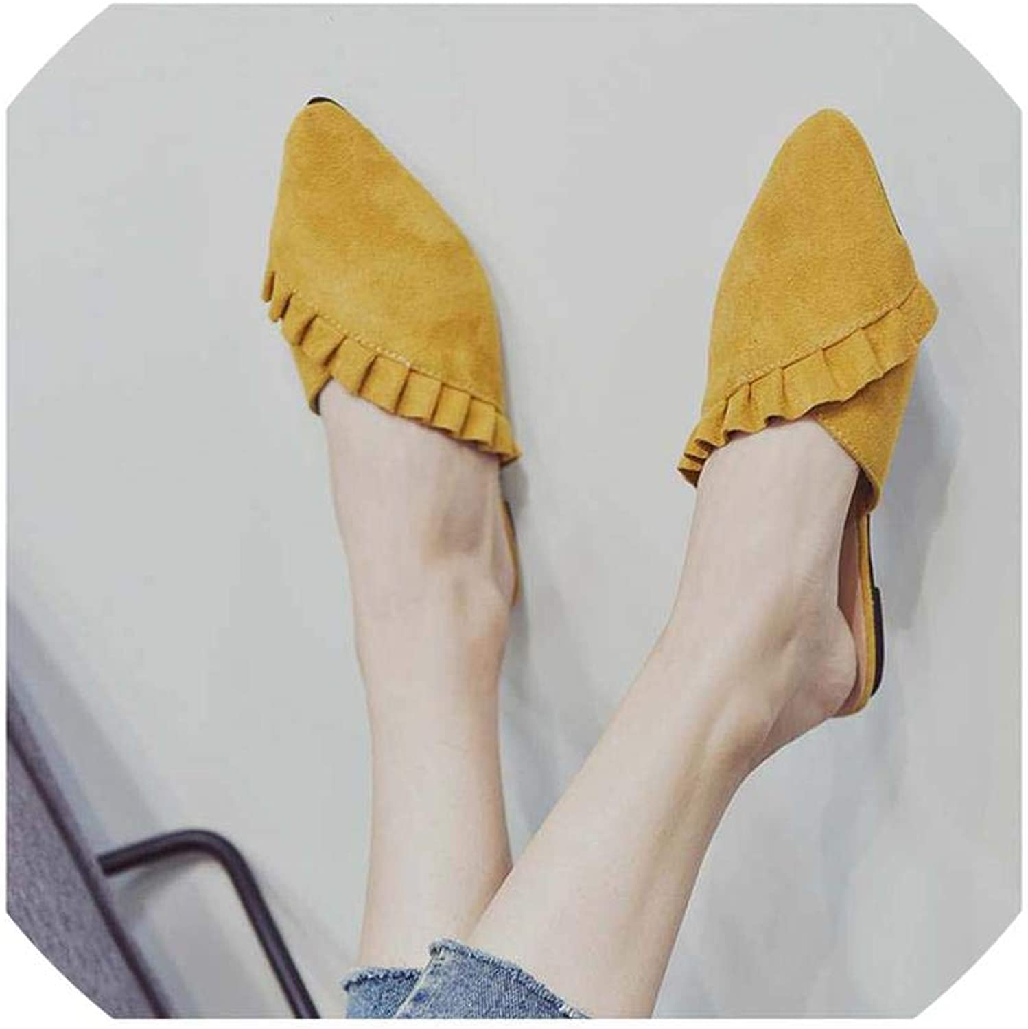 Women Slippers Flat Women shoes Slip Ladies shoes Fabric