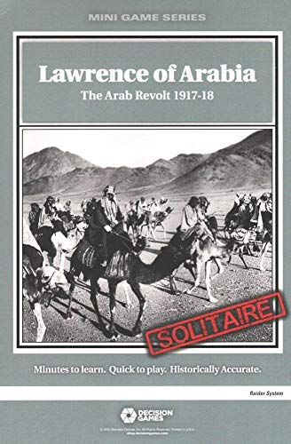 Solitaire Wargame Lawrence of Arabia: The Arab Revolt 1917-18