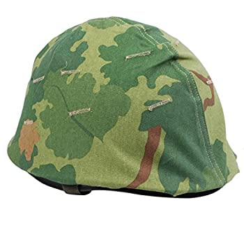 Heerpoint Reproduction Ww2 WWII Us Army M1 Helmet+Vietnam War US Military Reversible Mitchel Camouflage Helmet Cover