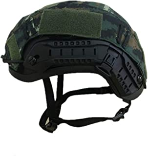 Image of ZJDU Hunting Shooting Gear Fast Helmets,Airsoft Paintball Tactical Military Combat Fast Helmet Cover for Ops-Core Fast Ballistic Helmets Army