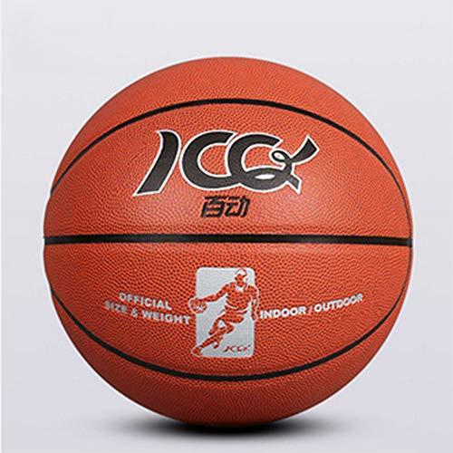 Lowest Prices! WZHCC Basketball, Outdoor Concrete Floor Indoor Wear-Resistant Leather Feel Pu Studen...