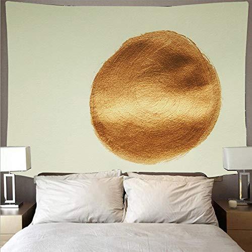 Fondo negro pintura dorada pintura gran arte personas psicodélico colgante de pared toalla de playa tapiz tela de fondo A7 180x230cm