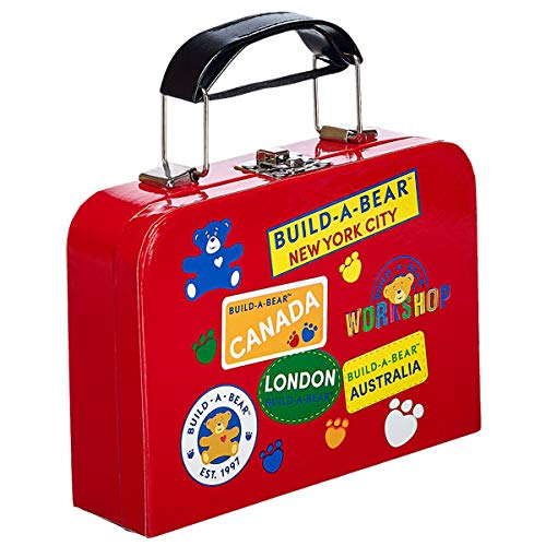 Build-a-Bear Workshop Red Suitcase