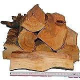 Smoker-Holz APFEL 10kg aromatisches-, 100% natürliches Räucherholz für Smoker und große Kugelgrills, sauber, trocken, Versandkostenfrei