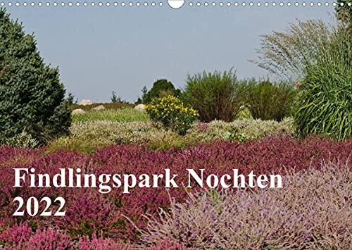 Findlingspark Nochten 2022 (Wandkalender 2022 DIN A3 quer)