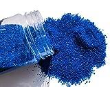 FAIRY TAIL & GLITZER FEE Sabbia Decorativa 620 g Blu Admiral Blu Sabbia di Colore Blu spar...
