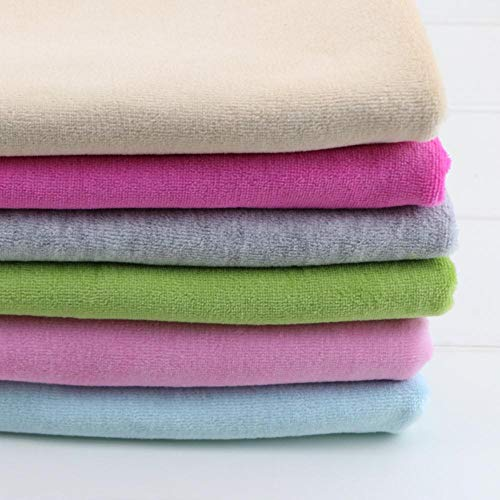 KIU Fluwelen Katoen Gebreide Stof voor DIY Naaien bekleding handgemaakte baby deken jas maken 50 * 155cm