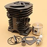 Kit de junta de cojinete de pistón de cilindro para HUSQVARNA 142 141 137 136 530069940 38MM piezas de motor de motosierra