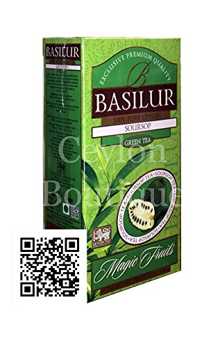 BASILUR Magic Green Soursop 25x1,5g