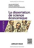 La dissertation de science économique