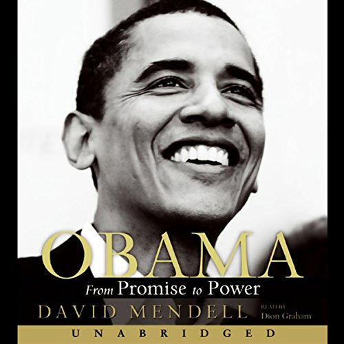 Obama audiobook cover art
