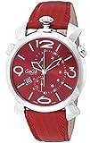GaGa Milano orologio THINCHRONO46MM Quadrante Rosso Cronografo Swiss Made 5097.04RD Uomo parallelo importazione]
