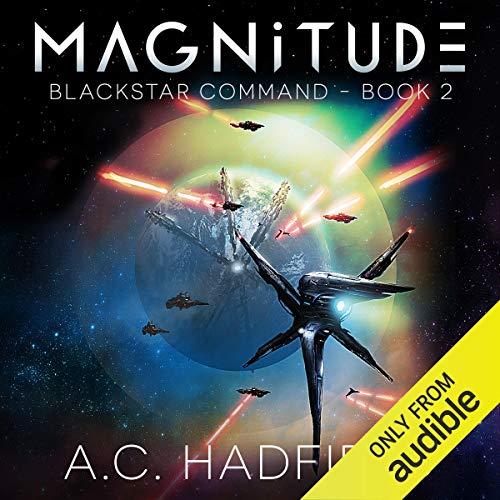 Magnitude audiobook cover art