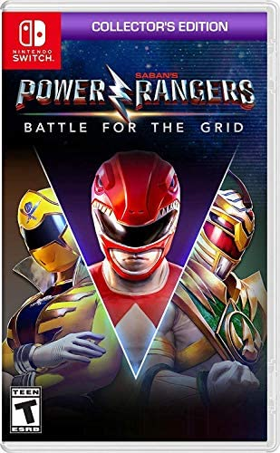 Power Rangers Battle for the Grid Collector s Edition NSW Nintendo Switch product image