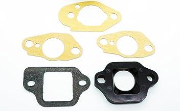 Honda Carburetor Insulator 16211-ZL8-000 and Gaskets 16221-883-800 (x2), 16228-ZL8-000, 16212-ZL8-000