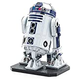ICONX METAL EARTH MAQUETA/PUZZLE 3D De metal. -STAR WARS R2D2 - Monta tus modelos favoritos en casa. (ICX131)
