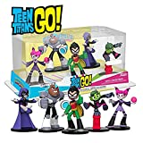 Funko 24118 HEROWORLD Teen Titans Go DC Comics Action Figure Core Set of Beast Boy, Cyborg, Jinx, Raven, Robin , Multi