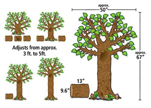 Teacher Created Resources Seasonal Tree Bulletin Board Display Set (4405), Multi Color Photo #2