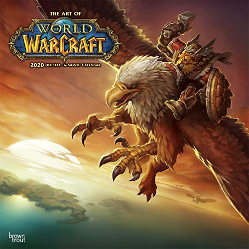 World of Warcraft 2020 12 x 12 Inch Monthly Square Wall Calendar, Video Game Blizzard Entertainment WoW