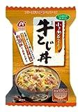 アマノフーズ アマノフーズ 小さめどんぶり 牛とじ丼 22g×4個