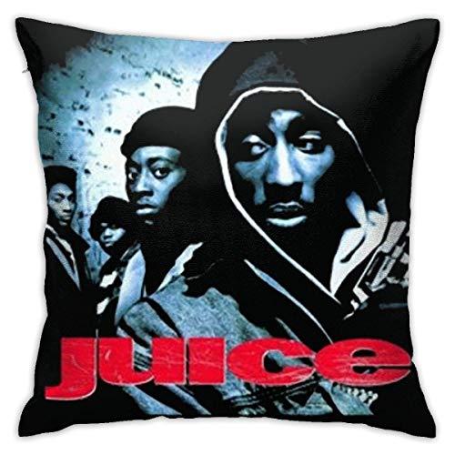 Juice 90'S Hip Hop Gangster Movie - Fundas de almohada suaves de 45,7 x 45,7 cm