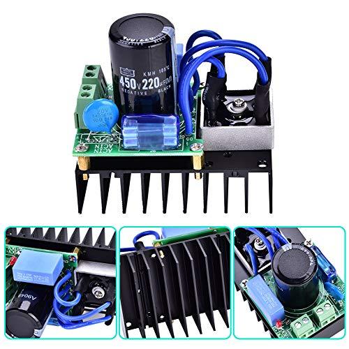 0-220VAC bis 0-311VDC Gleichrichterplatinenmodul Gleichrichterplatine Netzteilplatine AC-DC-Wandlerplatine Netzteil Gleichrichterelektronik für