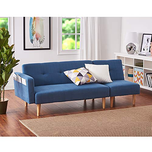 Panana Modern 2 Seater Settee Corner Sofa Bed with Foostool Fabric Love Seat Single Chair Lounge...