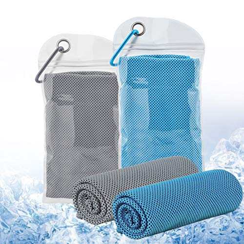 NSH Cold Sense Sports Towel Quick-Drying Towel Summer Ice Towel Two-Color Fitness Outdoor Ice Towel Advertising Towel