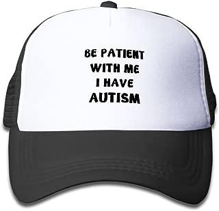 Be Patient with Me I Have Autism Adjustable Truck Cap for Children.