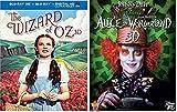The Wizard of Oz & Alice in Wonderland - Blu-ray 3D, Judy Garland / Johnny Depp